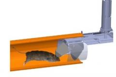 Opbygning rottespærre